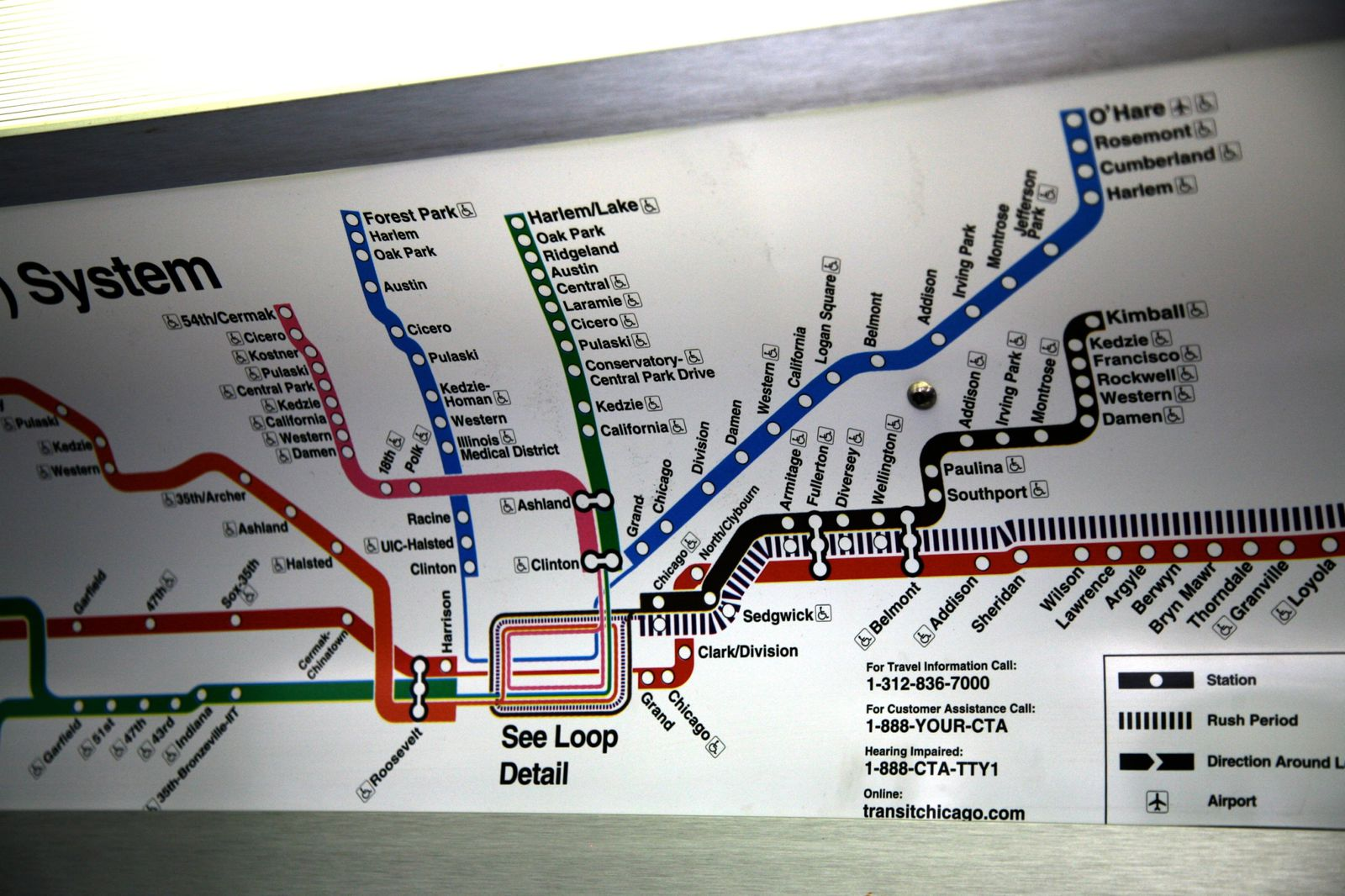 Blue Line Chicago Map Pictures To Pin On Pinterest  PinsDaddy