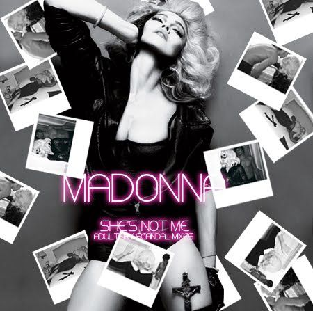 Madonna - She's Not Me (Single Cover)