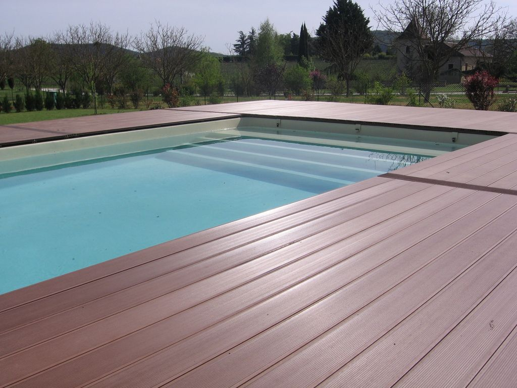 C t s partie 2 3 piscine en blocs poly terrasse en for Article piscine