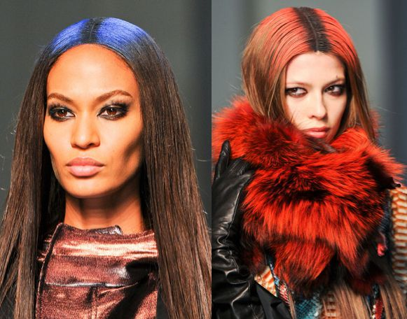Jean Paul Gaultier Hair Painting Fall 2012