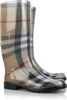 bottes de pluie burberry