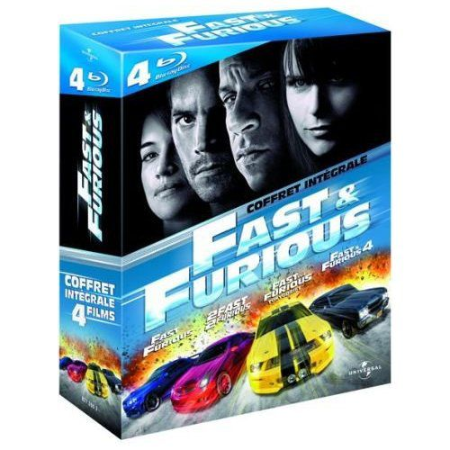 fast furious 4 et l 39 int grale en blu ray. Black Bedroom Furniture Sets. Home Design Ideas