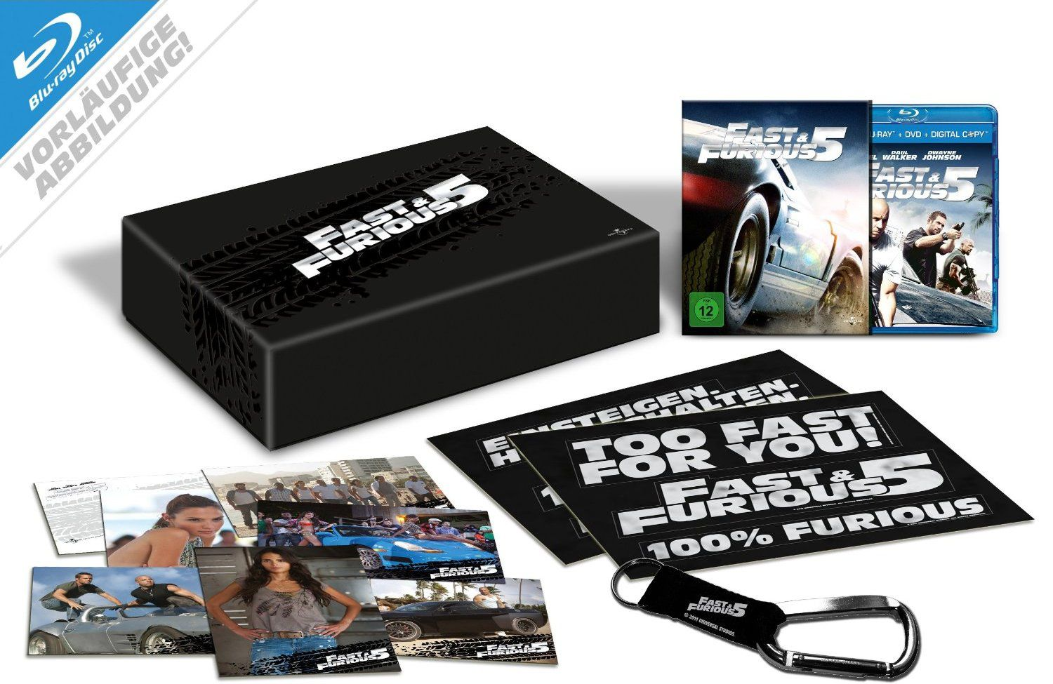 fast furious 5 en coffret blu ray collector dition limit e. Black Bedroom Furniture Sets. Home Design Ideas