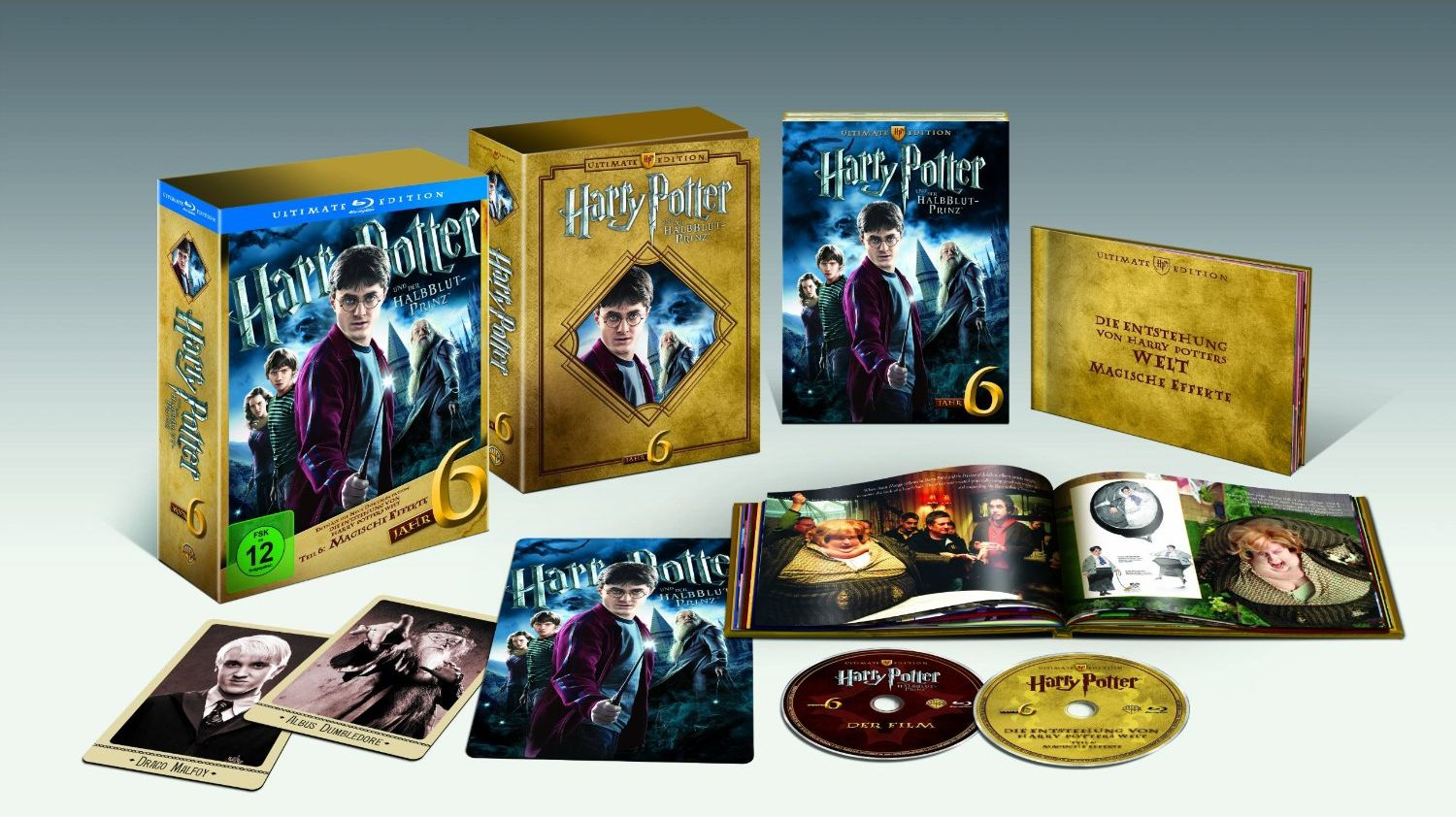 harry potter 5 et 6 en coffret dvd blu ray dition ultimate. Black Bedroom Furniture Sets. Home Design Ideas