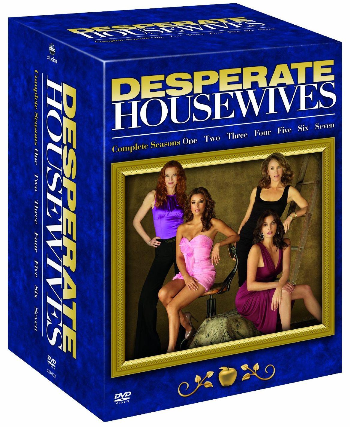 desperate housewives saison 1 7 en un seul coffret dvd. Black Bedroom Furniture Sets. Home Design Ideas
