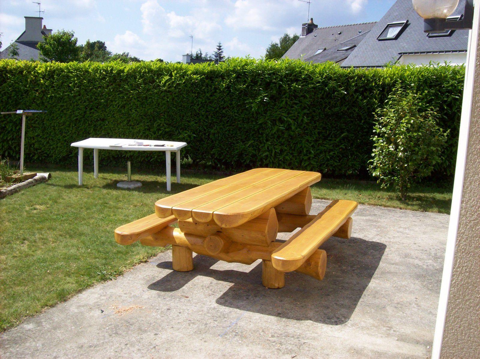 Best table de jardin bois 55 images best construire for Cuisine portugaise jardin