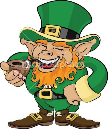 dep 6578078-Illustration-of-St -Patricks-Day-leprechaun