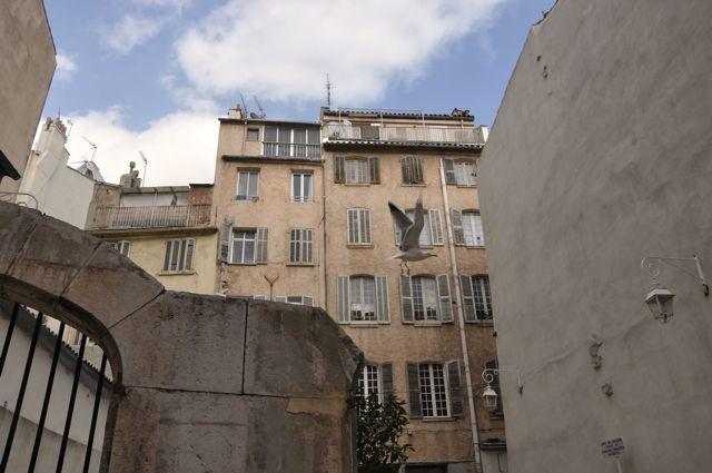 un jour gris à Toulon