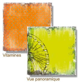 Vue panoramique Vitamines