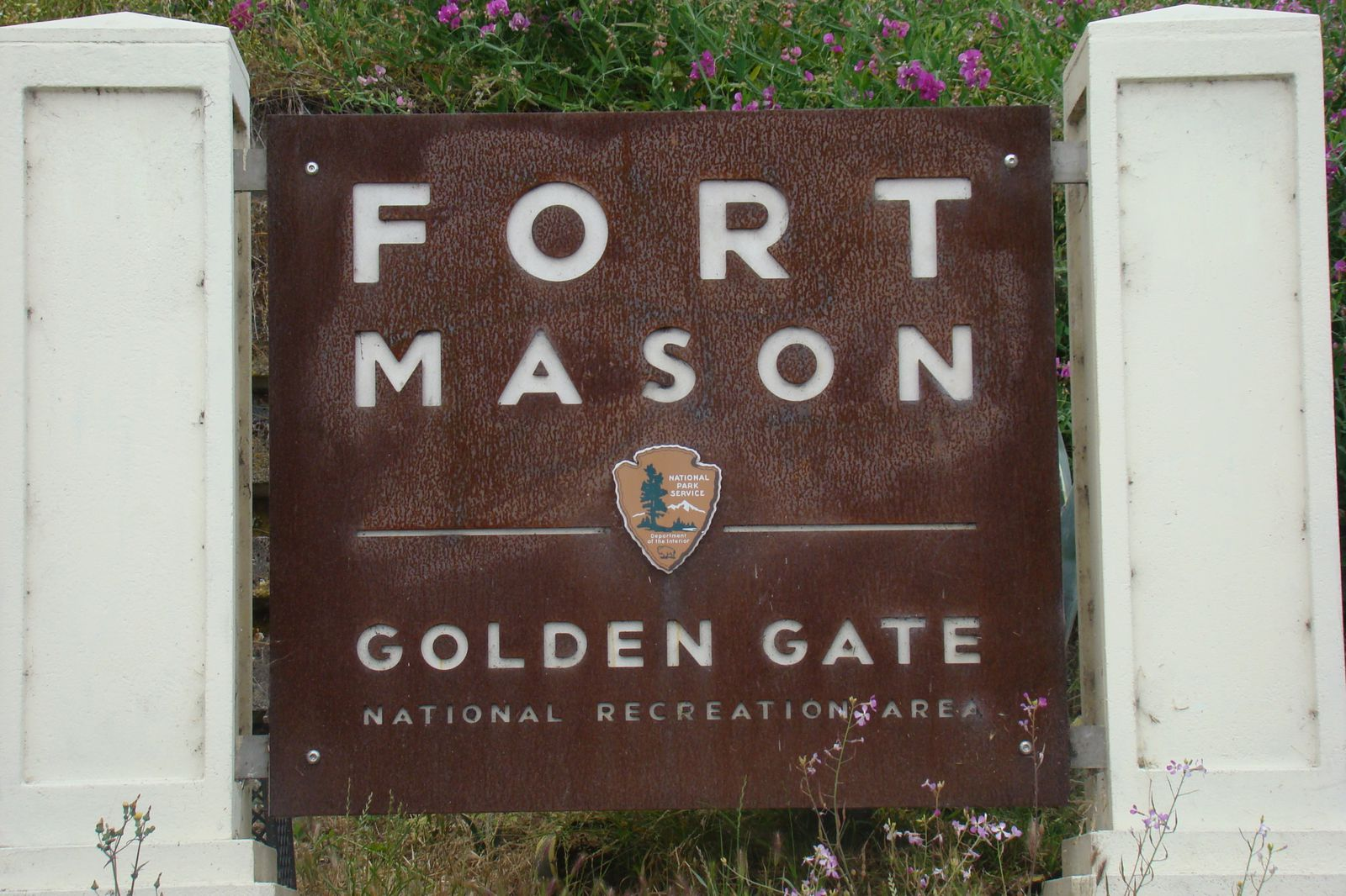 San Francisco - Fort Mason sign panneau