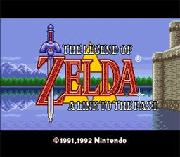 The-Lengend-Of-Zelda A-Link-To-The-Past
