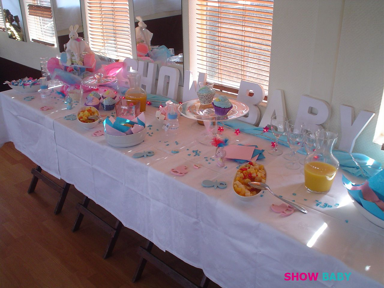 Baby shower forum mode - Deco baby shower fille ...