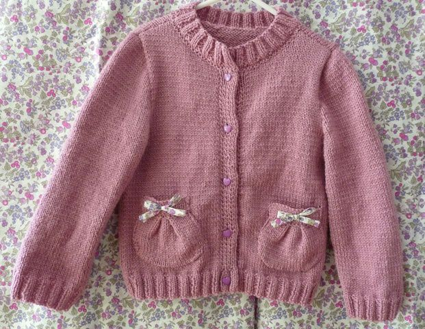 modele tricot fille 6 ans