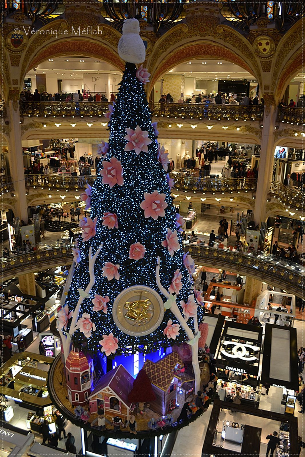 how to get to galeries lafayette