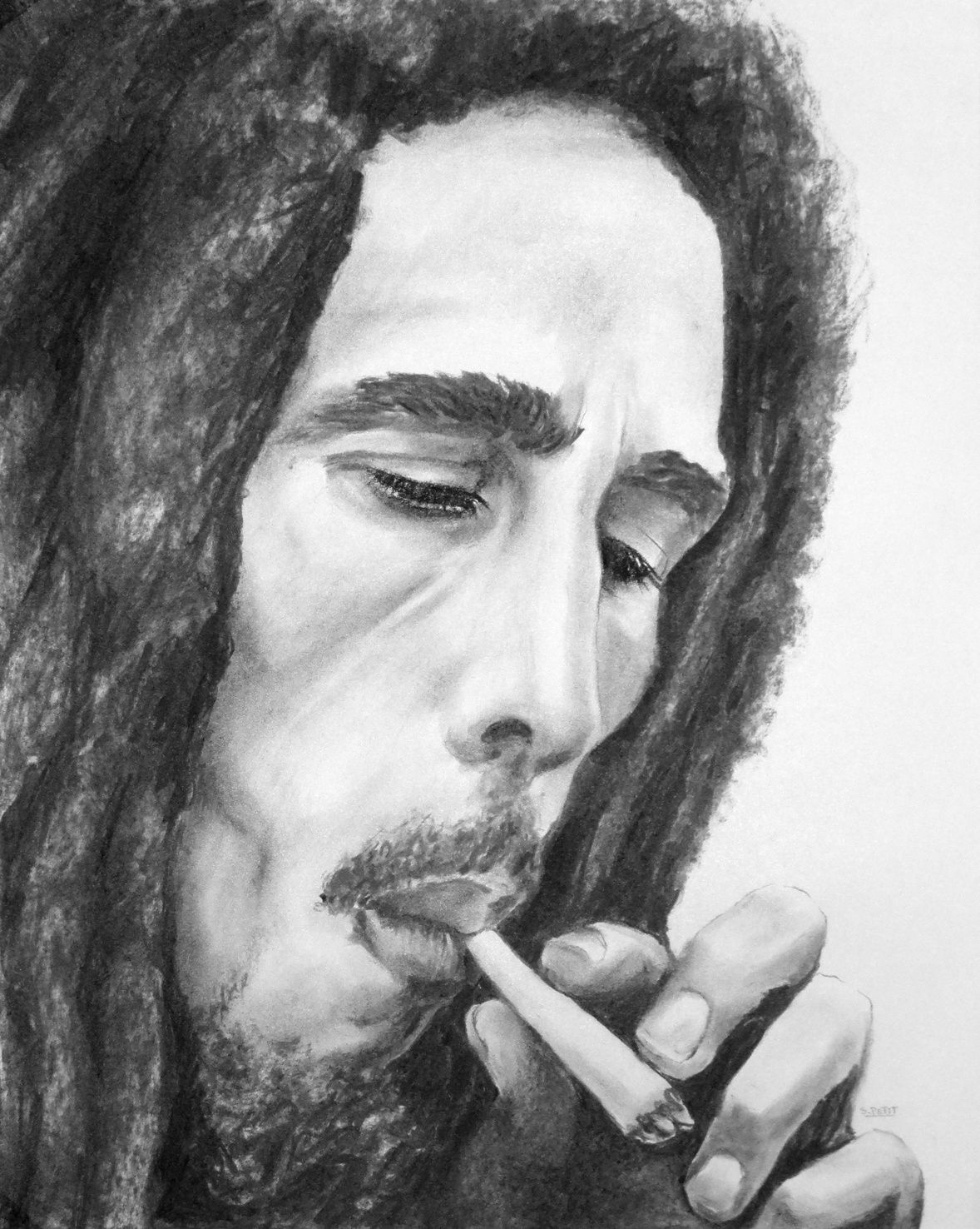 portraits de bob marley seb peinture. Black Bedroom Furniture Sets. Home Design Ideas