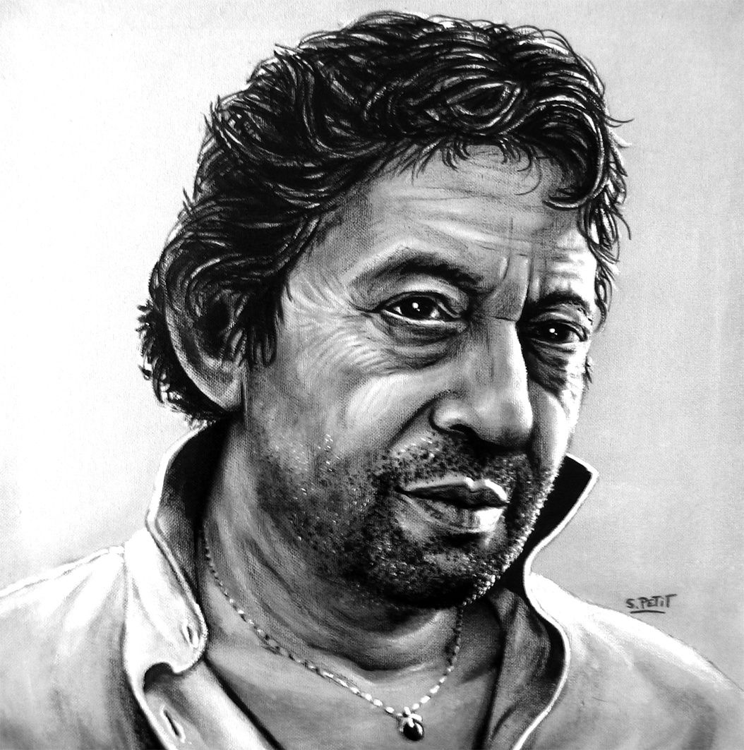 Portrait de Gainsbourg