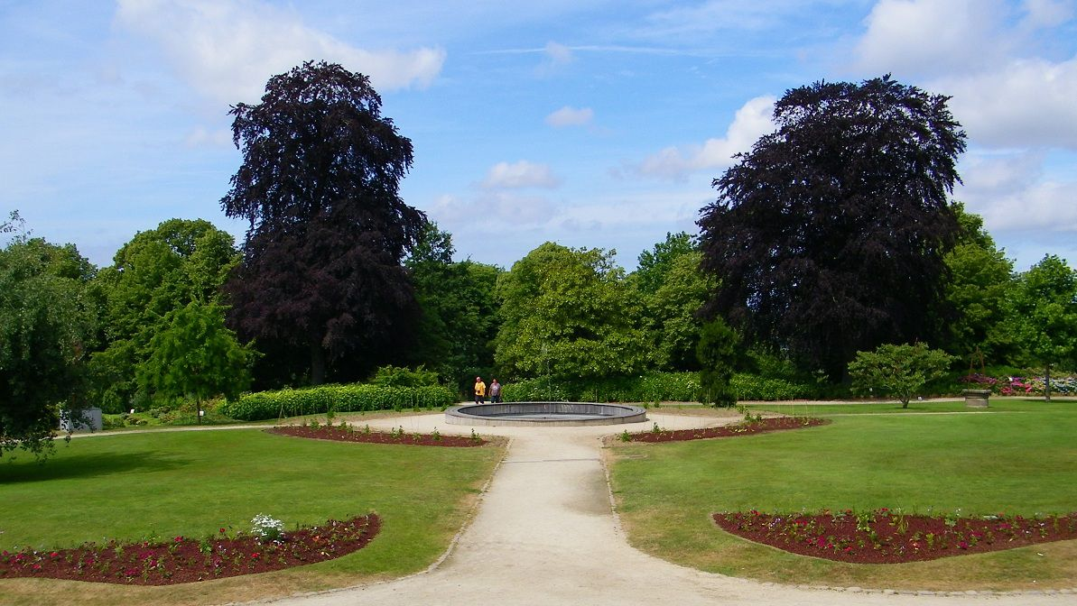 Avranches the baguette for Jardin des plantes chambery