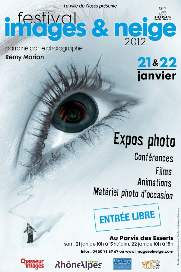 affiche festival images et neige 2012
