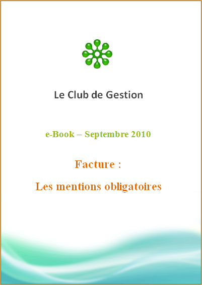 EB1 - Facturation - Les mentions obligatoires