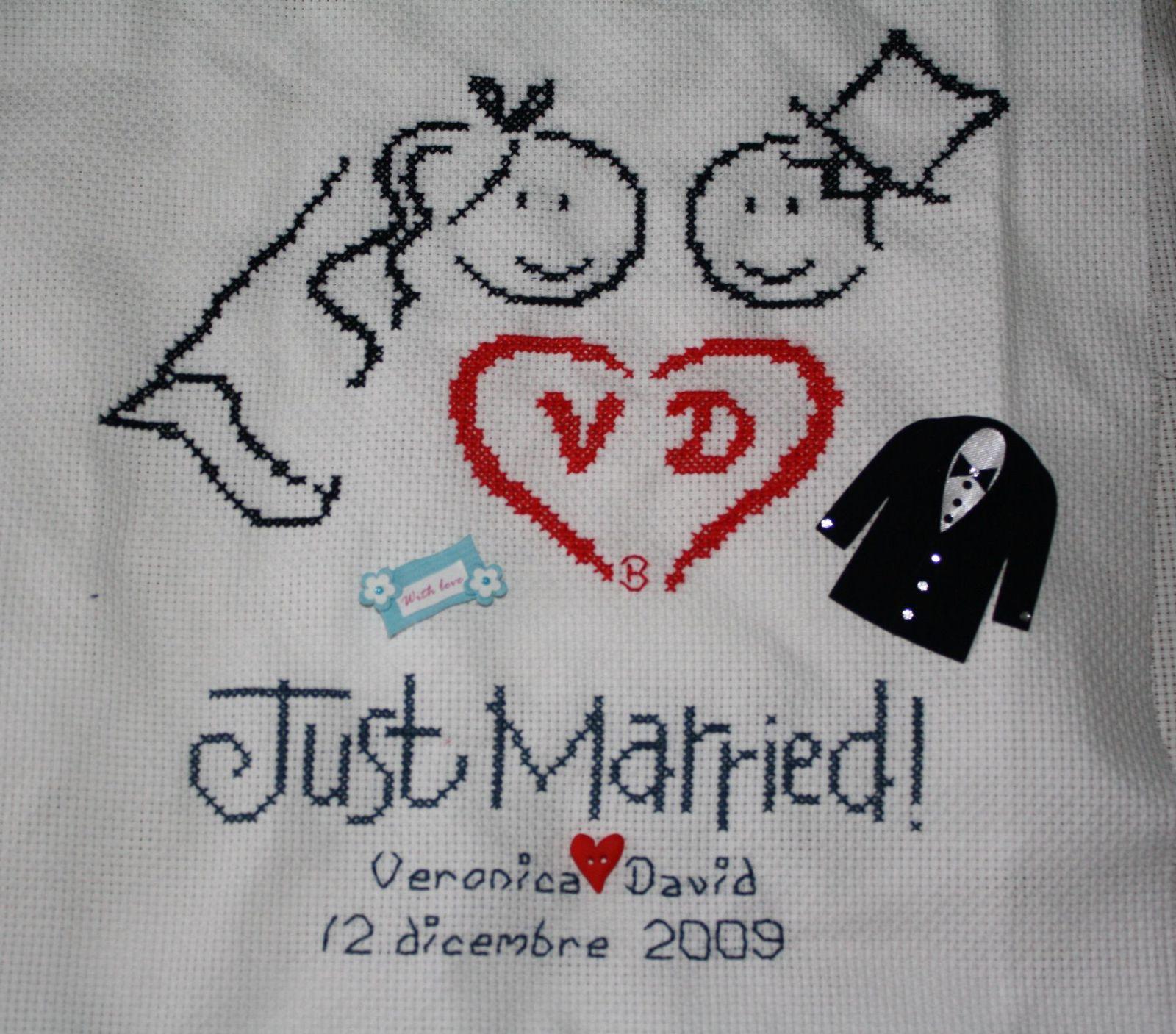 Estremamente sposi veronica e david - 12 dicembre 2009 - Fili di parole ZM78