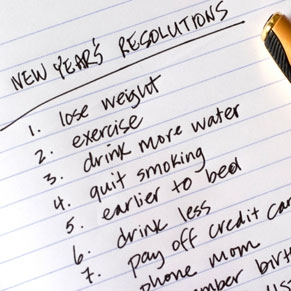bonnes resolutions nouvel an