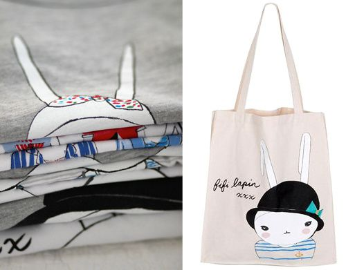 pile de tees et bag