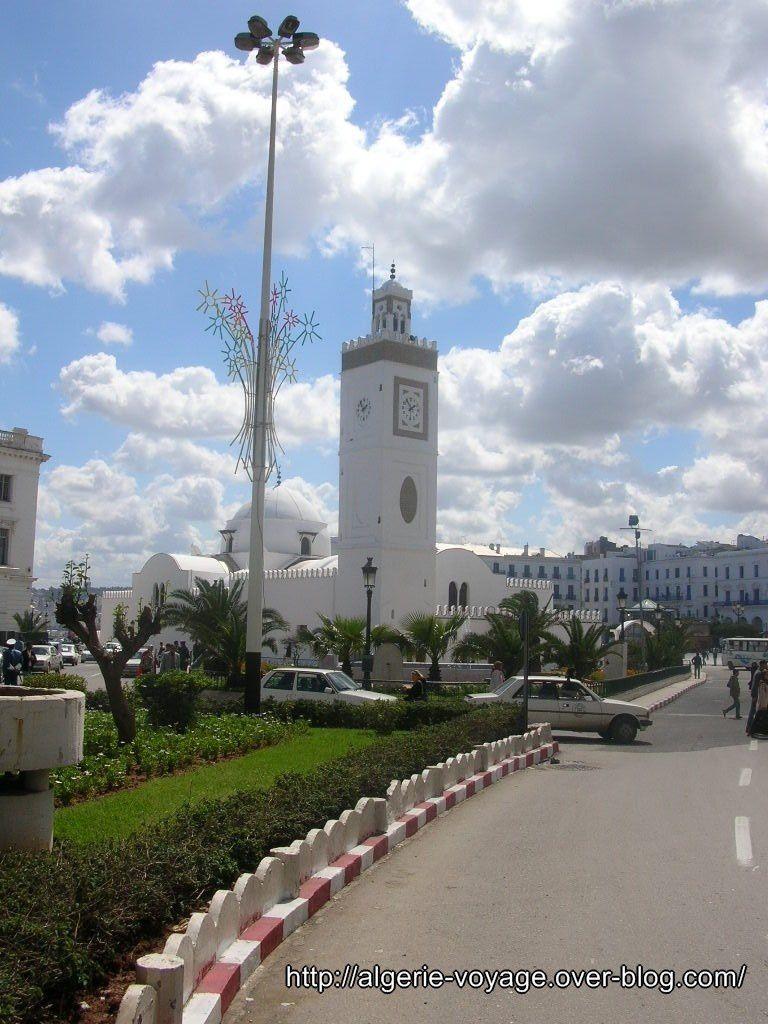 Le centre ville d 39 alger algerie voyage for Piscine du 5 juillet alger