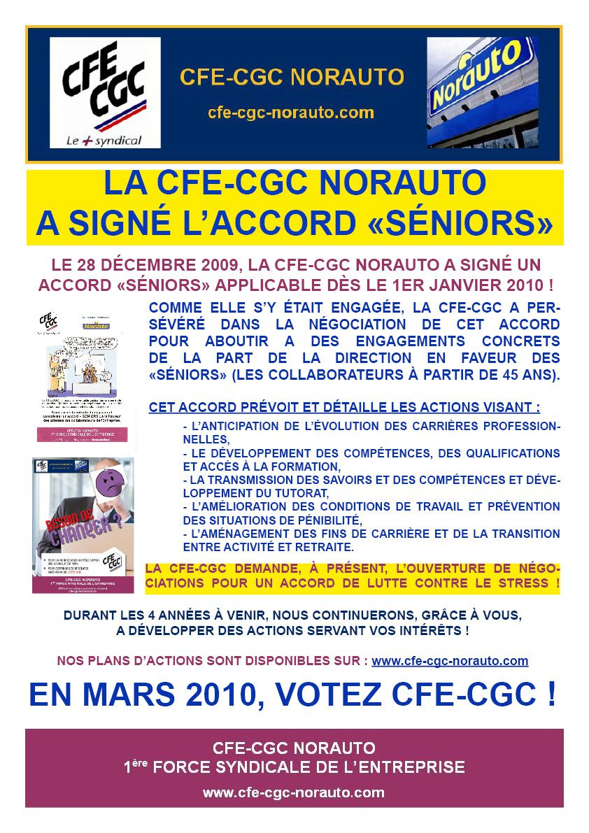 Communication CFE-CGC NORAUTO Accord SENIORS-