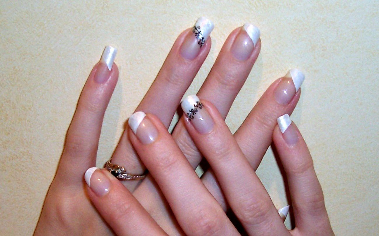 deco ongle simple