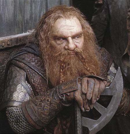 Lord Of The Rings Gimli Cousin