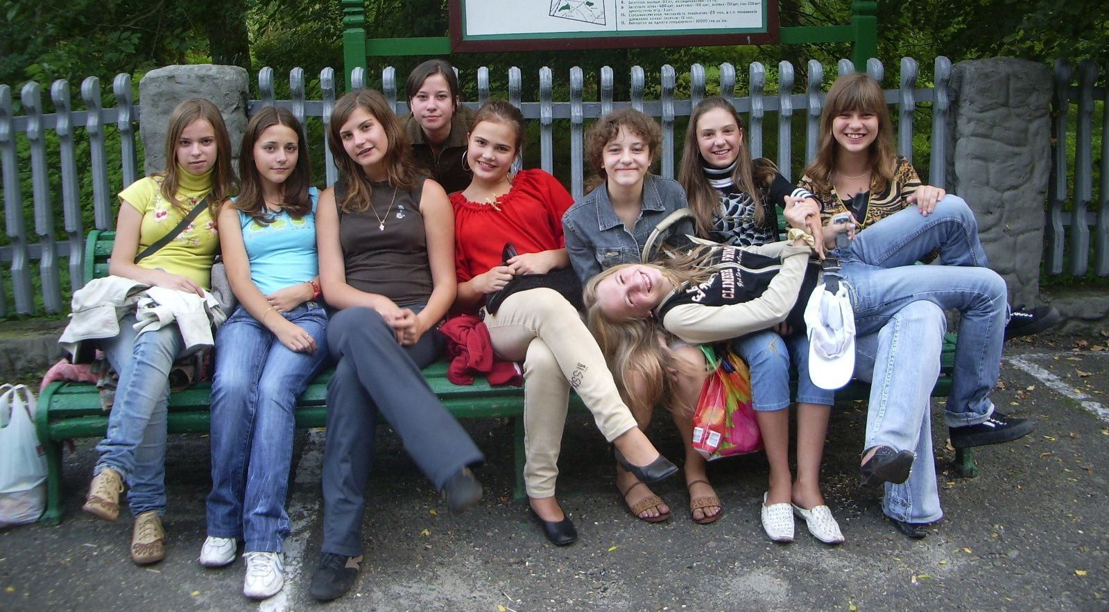 Examples of Ukrainian town's culture