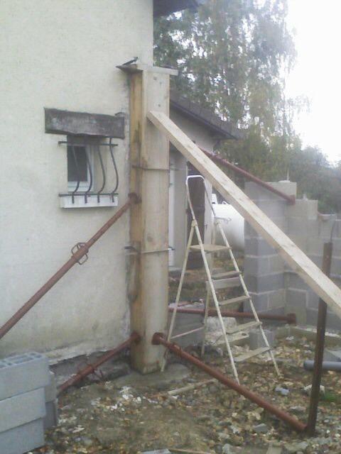 Maconnerie le blog des travaux de nefastseven - Comment couler un pilier beton ...