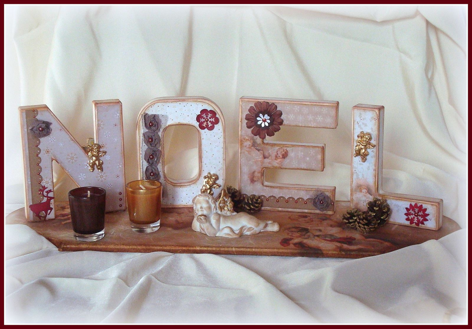 Scrap d co no l le blog de nefret for Deco maison de noel