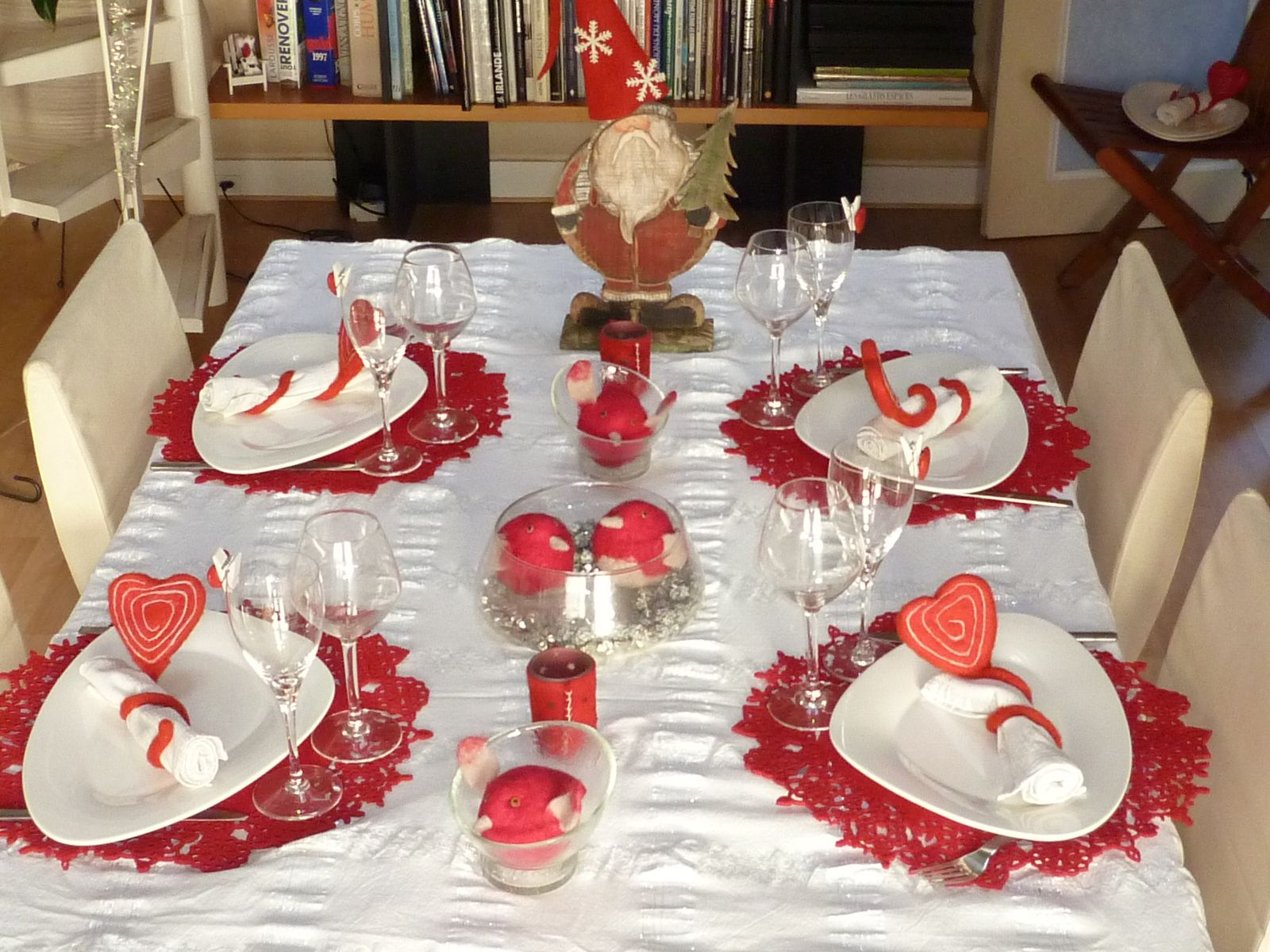 Faire Individuel Decoration De Noel Pour Table