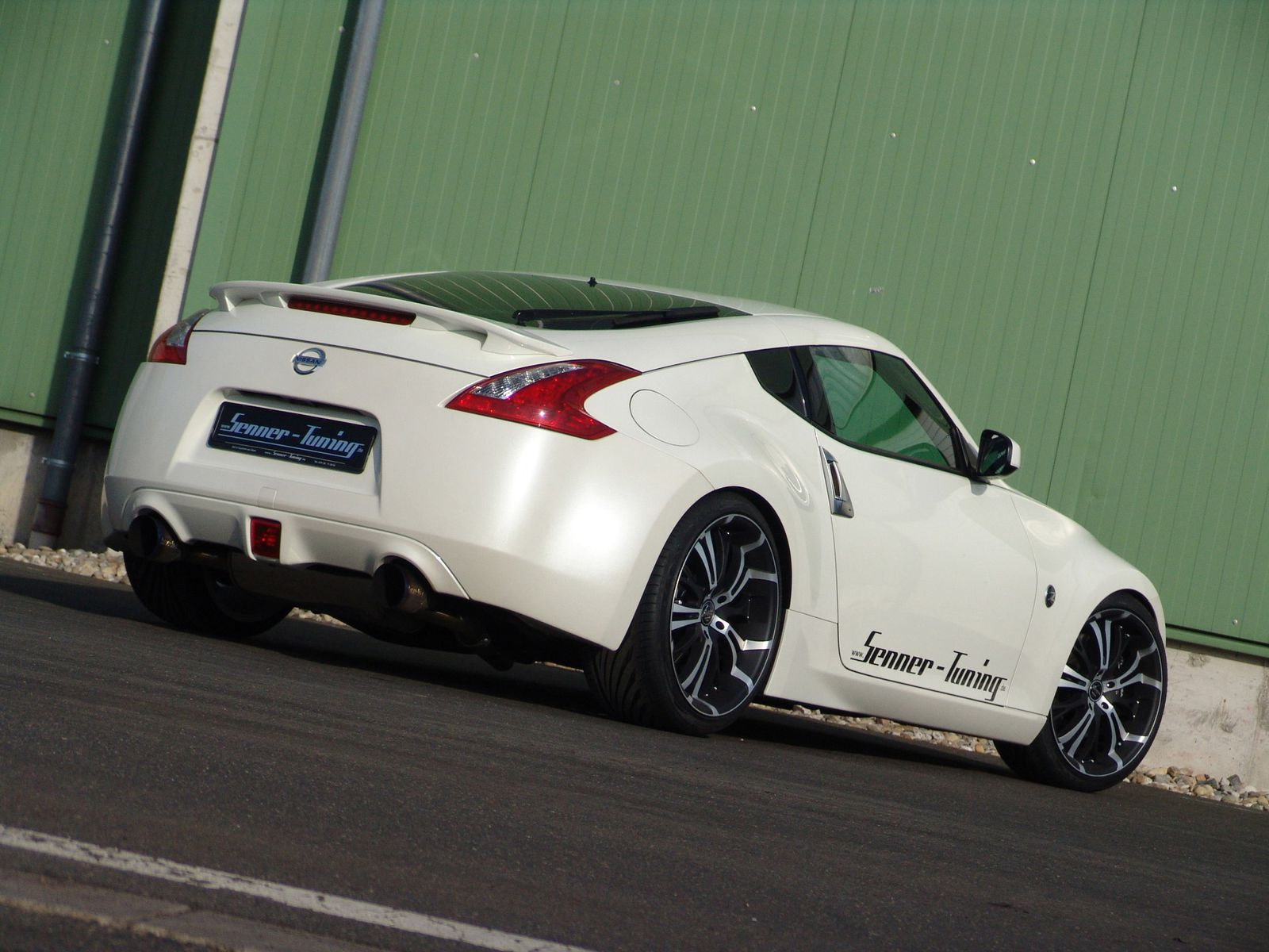 2010 senner tuning nissan 370z dark cars wallpapers. Black Bedroom Furniture Sets. Home Design Ideas