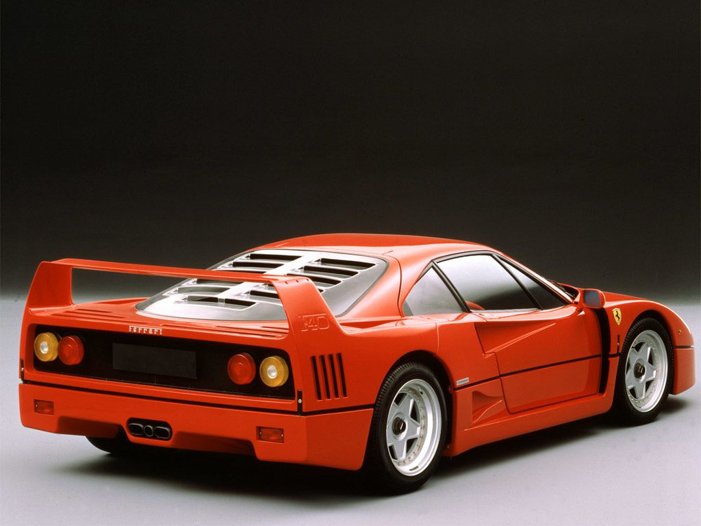 1987 1989 ferrari f40 dark cars wallpapers. Black Bedroom Furniture Sets. Home Design Ideas