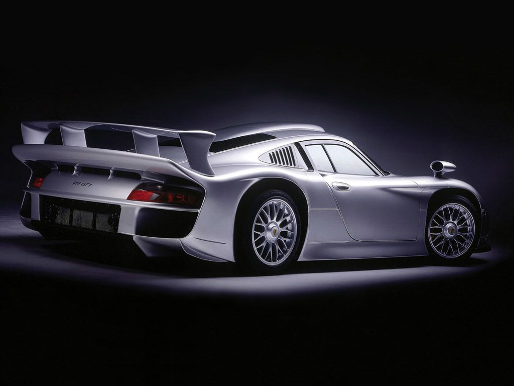 1996 1998 porsche 911 gt1 dark cars wallpapers. Black Bedroom Furniture Sets. Home Design Ideas