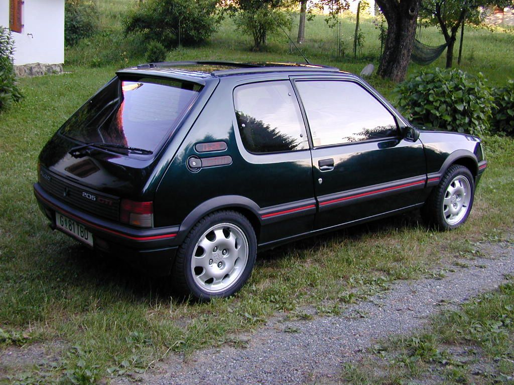 1986 peugeot 205 gti 1 9 related infomation specifications weili automotive network. Black Bedroom Furniture Sets. Home Design Ideas