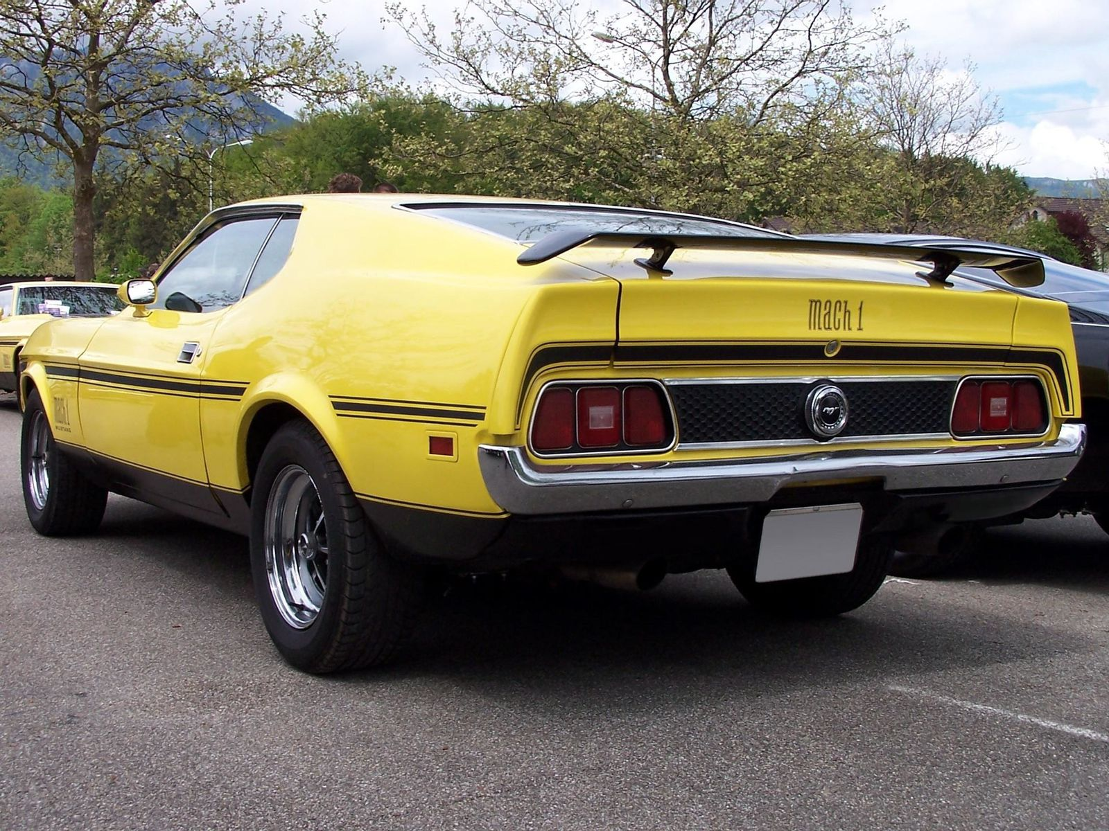 1972 ford mustang mach1 fastback coupe