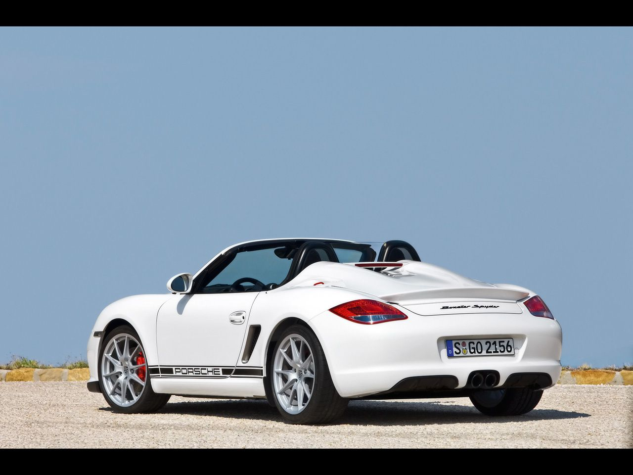 2010 Porsche Boxster Spyder Dark Cars Wallpapers