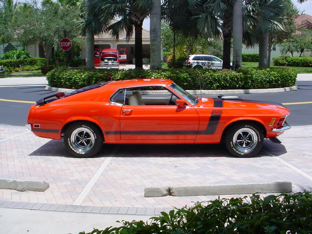 1970 Boss 302 a 1970 Ford Mustang Boss 302 Custom