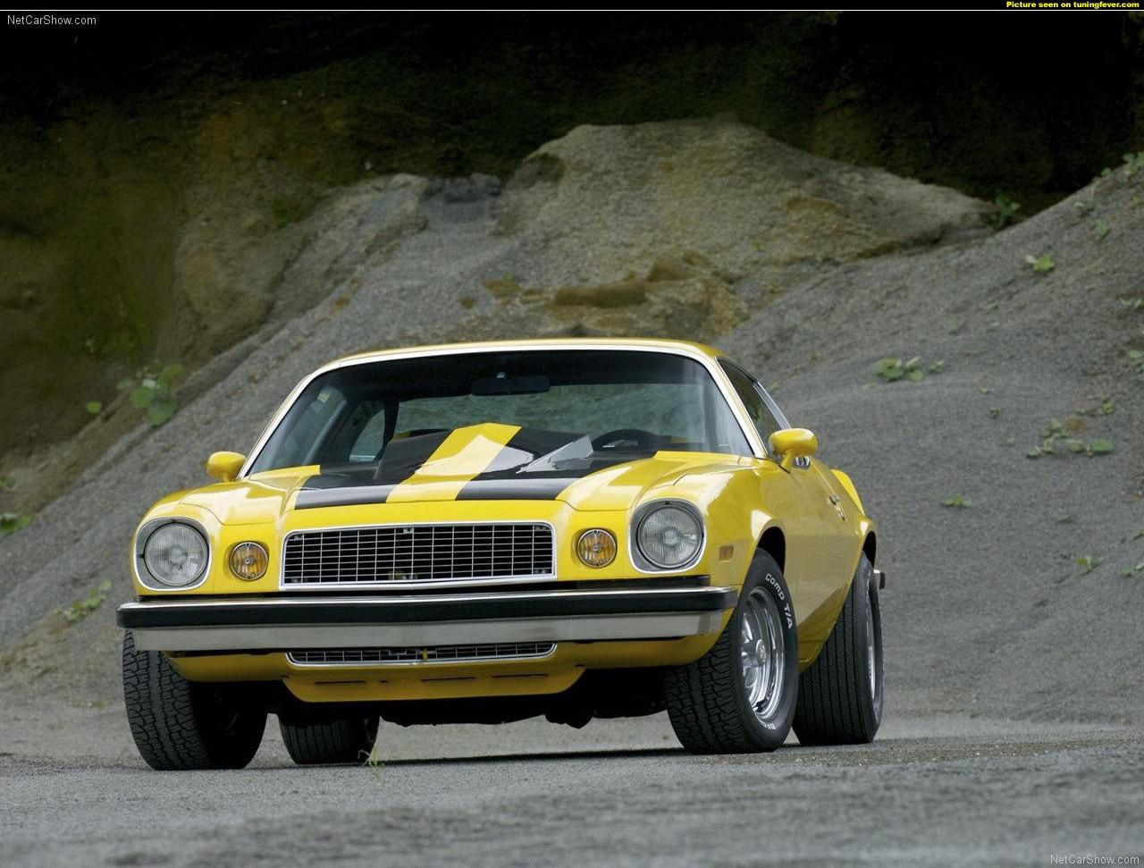1976 chevrolet camaro lt rally sport bumblebee dark cars wallpapers. Black Bedroom Furniture Sets. Home Design Ideas
