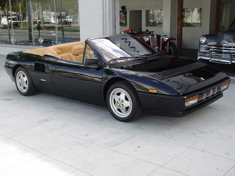 1989 1994 ferrari mondial t cabriolet forza. Black Bedroom Furniture Sets. Home Design Ideas