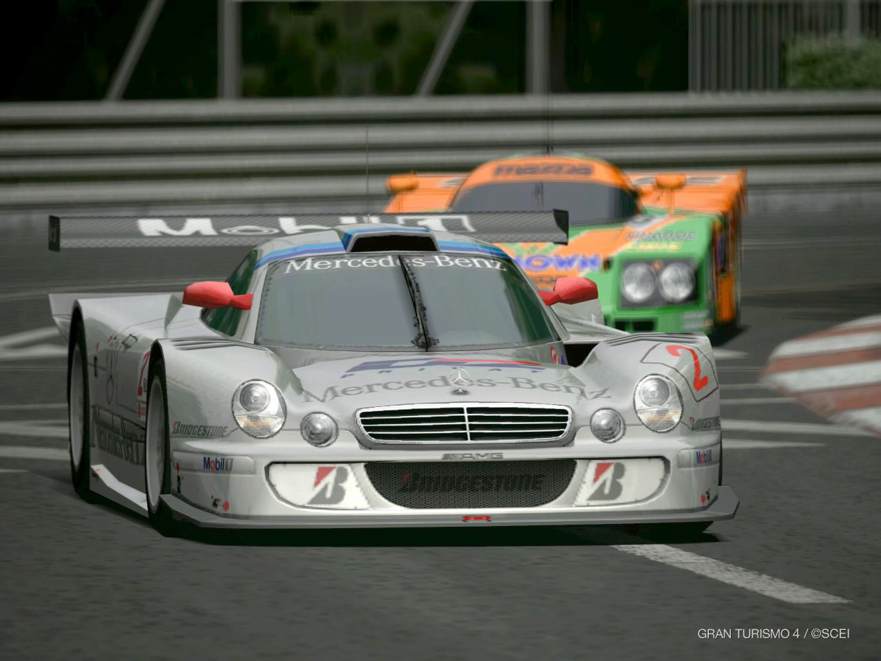 1997 1999 mercedes clk gtr dark cars wallpapers for Mercedes benz race
