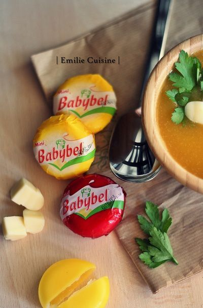 soupe, courge, babybel 8