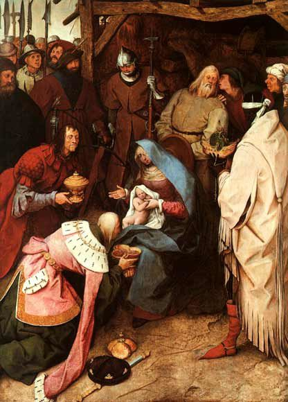 bruegel adoration mages