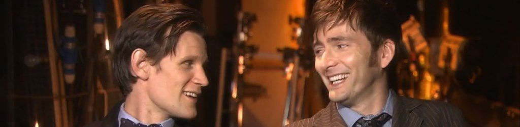 50 ans Doctor Who : La vidéo Tennant/Smith promise par la BBC !