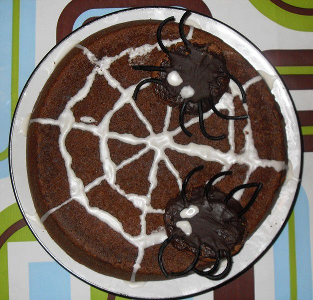 recette gateau halloween chocolat. Black Bedroom Furniture Sets. Home Design Ideas