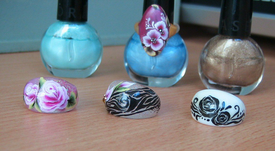 Nails art bague