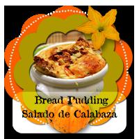 Bread Pudding Salado de Calabaza200